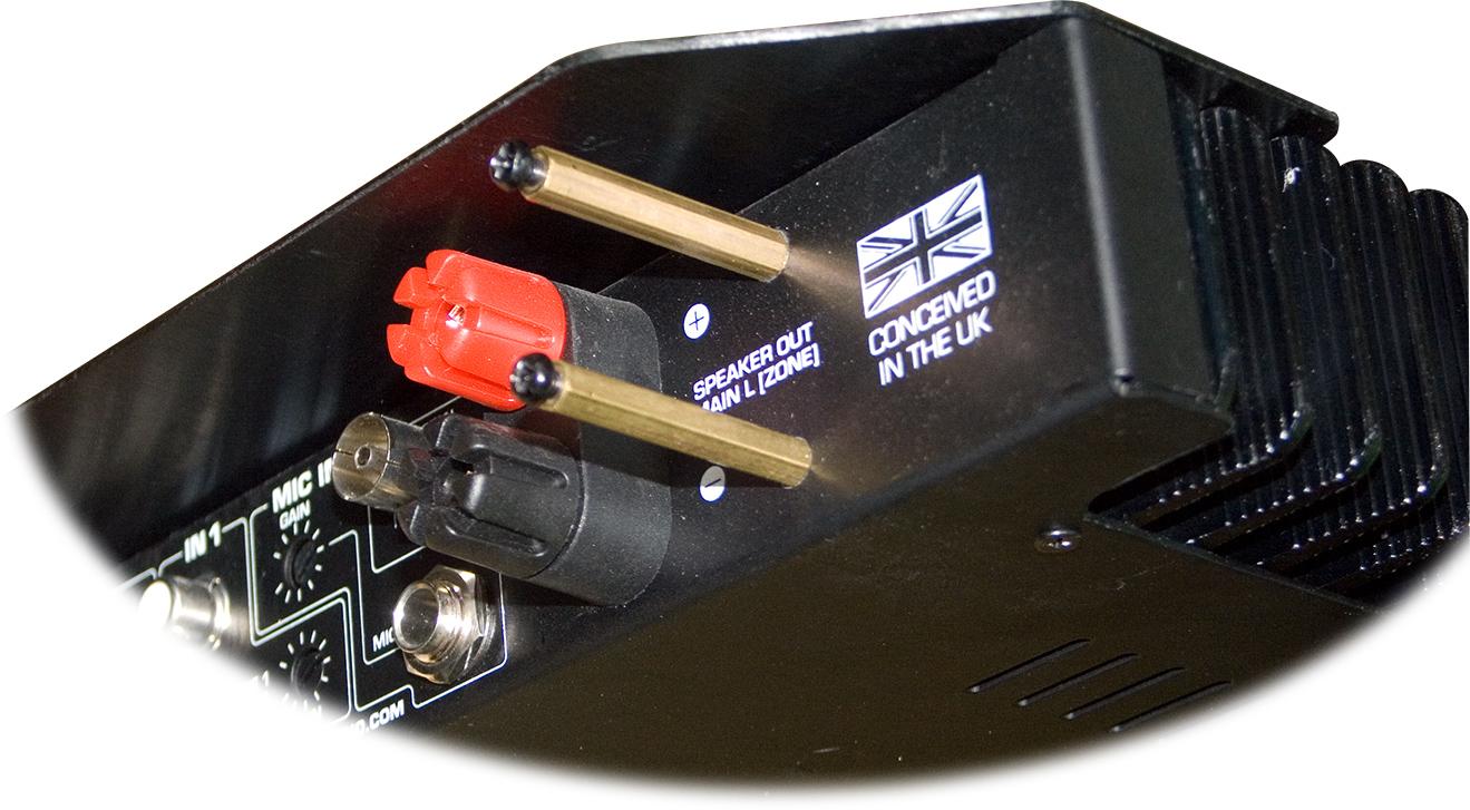 IMA202V2 Hill Audio IMA202 högtalarutgång polskruv