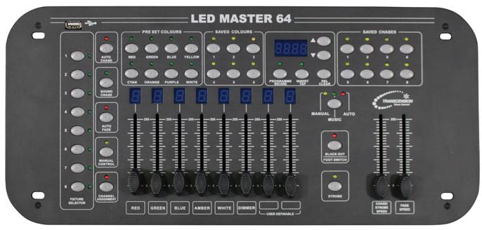 LED MASTER 64 DMX-CONTROL LED MASTER 64 DMX-CONTROL