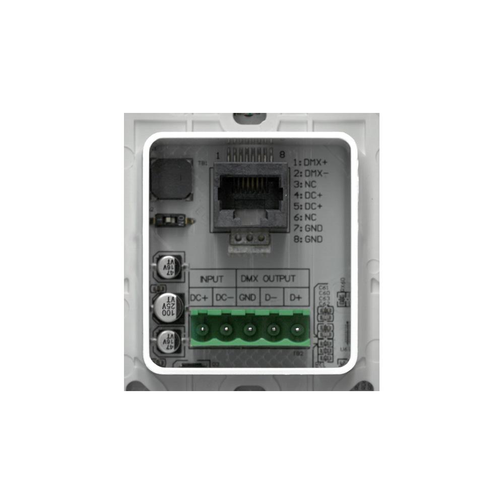 UX8 UX8 baksida skruvterminal + RJ45