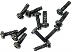 M3x10MM KULLRIG 12-PACK