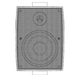 Utomhus / IP högtalare 100V