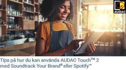 audac touch 2 soundtrack spotify