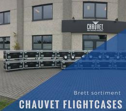 Chauvet flightcases