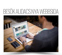 Audac ny webbsida