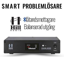 Bluetoothmottagare med balanserad utgång