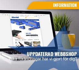 Uppdaterad webbshop