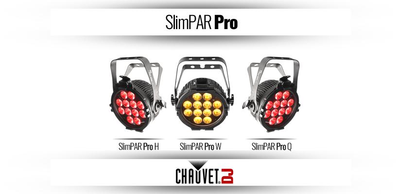 Chauvet DJ Slimpar Pro-serien